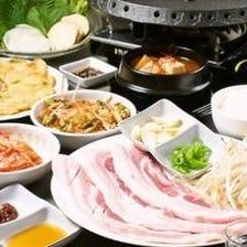 韓国料理で女子会