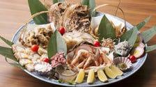 皿鉢(さわち)料理で一味違う宴会!