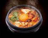 【new】海鮮とキムチの豆富チゲ