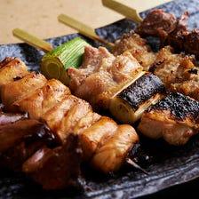 地鶏 奈良県産 大和肉鶏使用の「おまかせ6本セット」