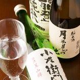 『能登純米』や、『月不見の池』など、愛知以外の地酒もおすすめ