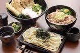 当店自慢の美味しい麺々!! 800円~のうどんは大盛orライス無料