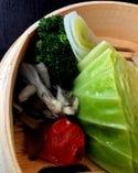女性に大人気の温野菜盛 1人前297 契約農家直送の新鮮地場野菜