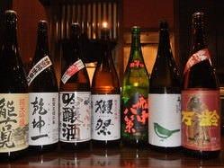 焼酎・日本酒は豊富な品揃え!!