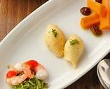 1】野菜のデリ3種盛り合わせ(お一人一皿)