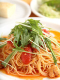 トマトソースのスパゲティ、