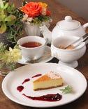 ◎ニューヨークチーズケーキとお茶のセット◎