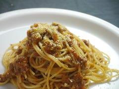 ◎イタリアンミートソース 生タリアテーレ 又は イタリア産スパゲティ