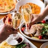 貸切パーティーならご予算に応じて、お料理内容など何でもご相談を承ります!お客様だけのオリジナリティ溢れるパーティーを♪