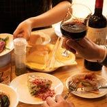 気付いたらワインが1本空いてしまうほどの絶品料理も多数取り揃えております。