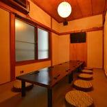 2階個室は宴会や同窓会、その他様々なシーンに【3~10名様】