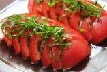 人気!!大葉薫るトマトサラダ