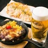 和風居酒屋ですが、実は「本格洋食」が隠れた人気メニュー!