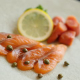燻製サーモン・タラコなど魚介も豊富!