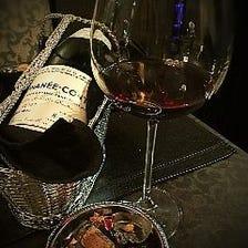 ■100種類以上の多彩なワイン