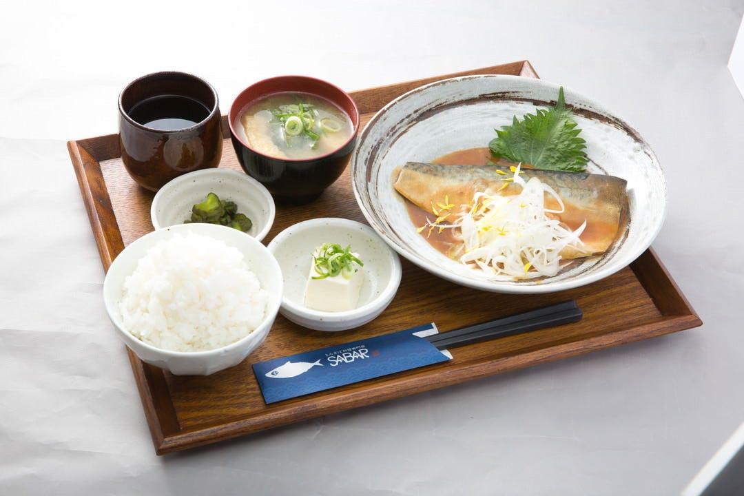 サバを楽しめる多彩な定食メニュー!