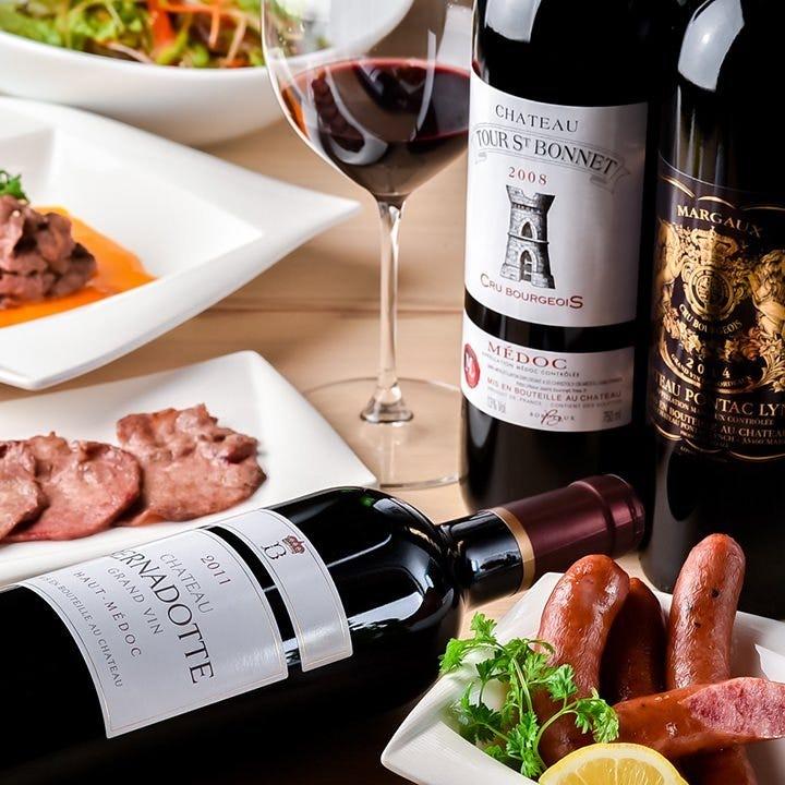 ベストマッチ◎馬肉とワインのマリアージュをご堪能ください
