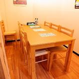 【コロナ禍でも安心!個室テーブル4~6名】少人数宴会や親せきの集まりに♪