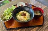 醤油糀と豆乳のリゾット定食(ドリンク付き)