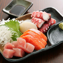 羽田直送 鮮魚の刺身盛合せ