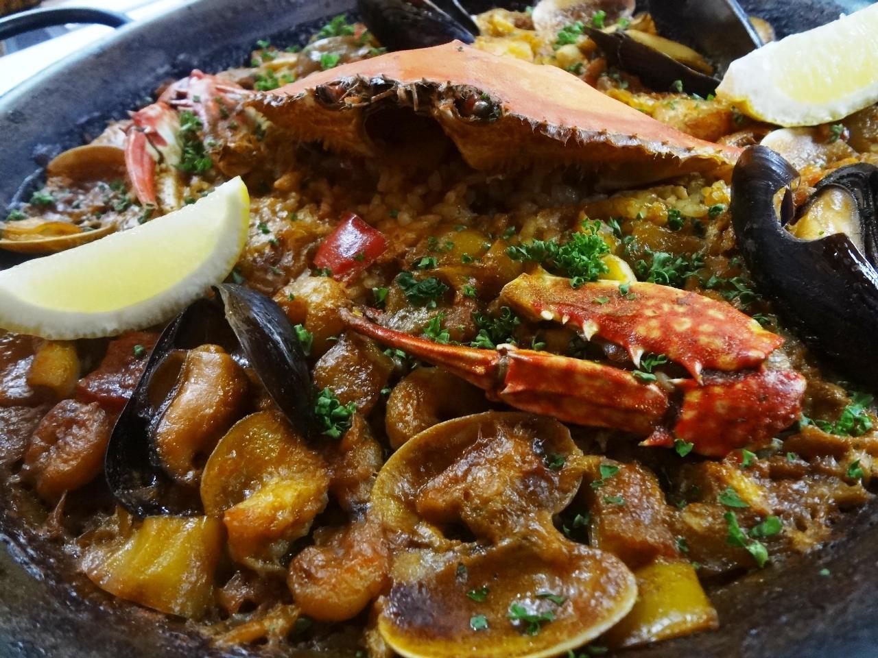 スペイン料理と言えば、パエリア♪