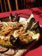 一番人気のパエリャ 渡り蟹と魚介のパエリャです