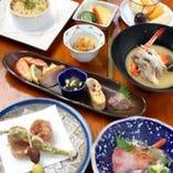 旬のおまかせミニコース 全6品★3000円(税抜)