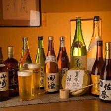 季節の美味しい日本酒にこだわって