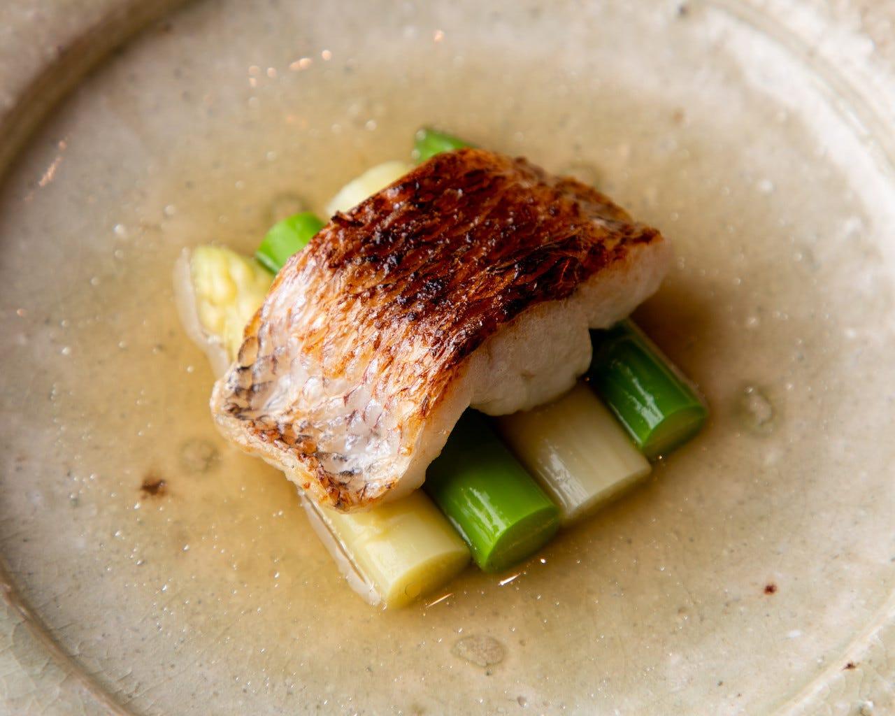 魚と野菜メインの心温まるお料理を