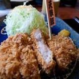 天草豚厚切りロースかつ定食(200g)