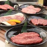 上質なお肉をコースで堪能