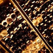オーナー自ら熟成させた自慢のワイン