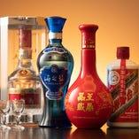 中国から取り寄せた中国八大銘酒にも選ばれている中国酒