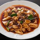 本場さながらのスパイスを使った「本場四川マーボー豆腐 」