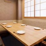 【1階】完全個室掘りごたつ席(2~6名様)