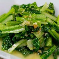 台湾風青菜炒め