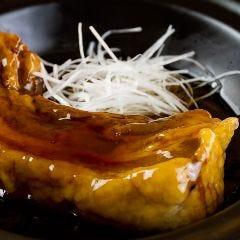 丸ごと豚バラ肉の黒酢豚