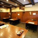 当店自慢の九州料理を食べながら、お連れ様と楽しい時間をお過ごしください。