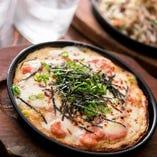 山芋鉄板 明太チーズ
