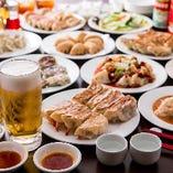 【食べ放題】 大満足の2時間食べ飲み放題は2,980円(税抜)