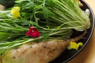 野菜は滋賀県産