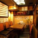 ご宴会に最適なテーブル席(~6名様)