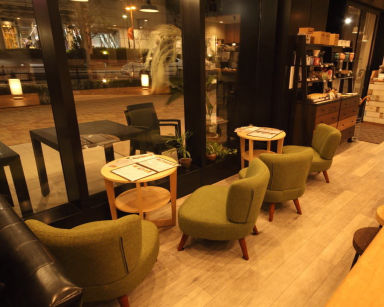 S PRESS CAFE  店内の画像