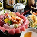 スペシャル海鮮丼定食