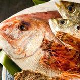 創業者から受け継いだ目利きで納得の逸品を厳選する季節の鮮魚
