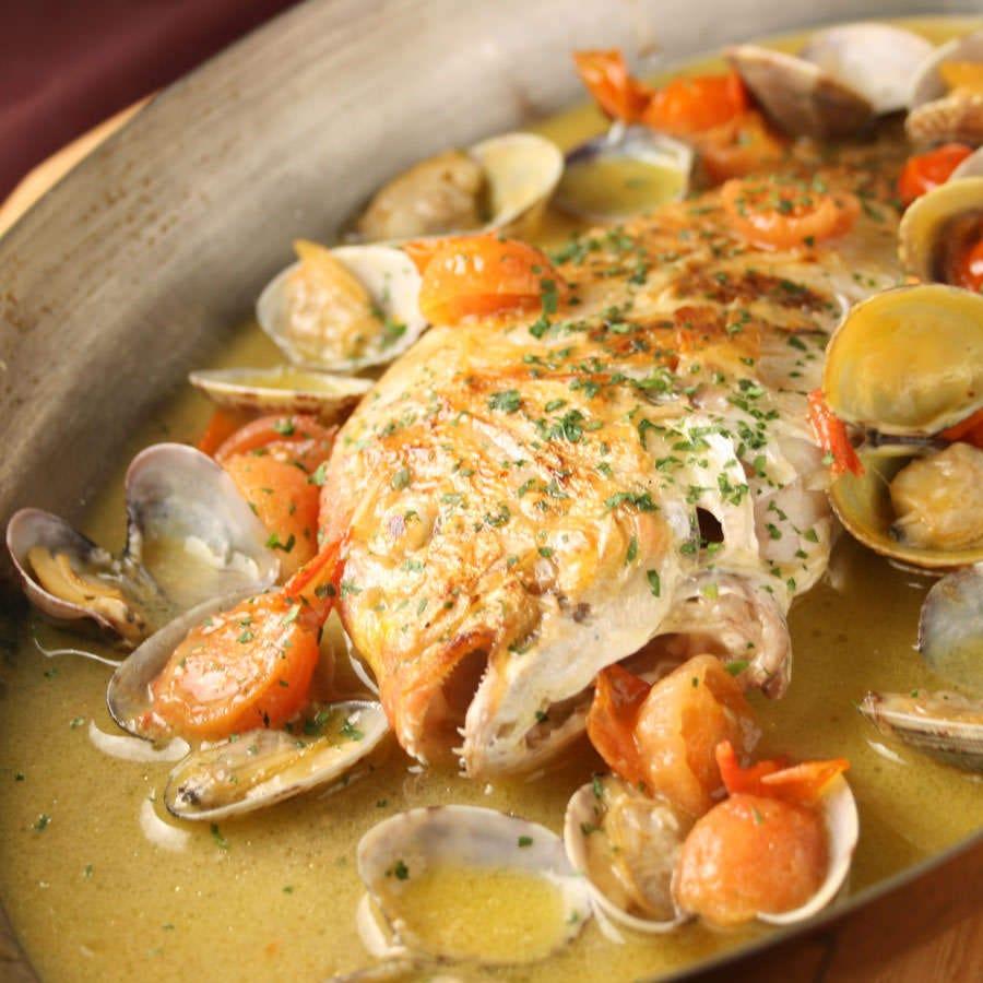 新鮮な食財を使用した本格イタリアン