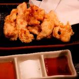 鶏の天ぷらネギだれ添え