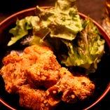鶏のから揚げガーリック風味