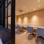 2F奥の半個室席は、オープン席としてもご利用いただけます。
