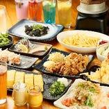 ボリューム満点☆食べ飲み放題コース3,200円